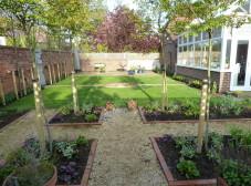 Jesmond Back garden, nearly finished